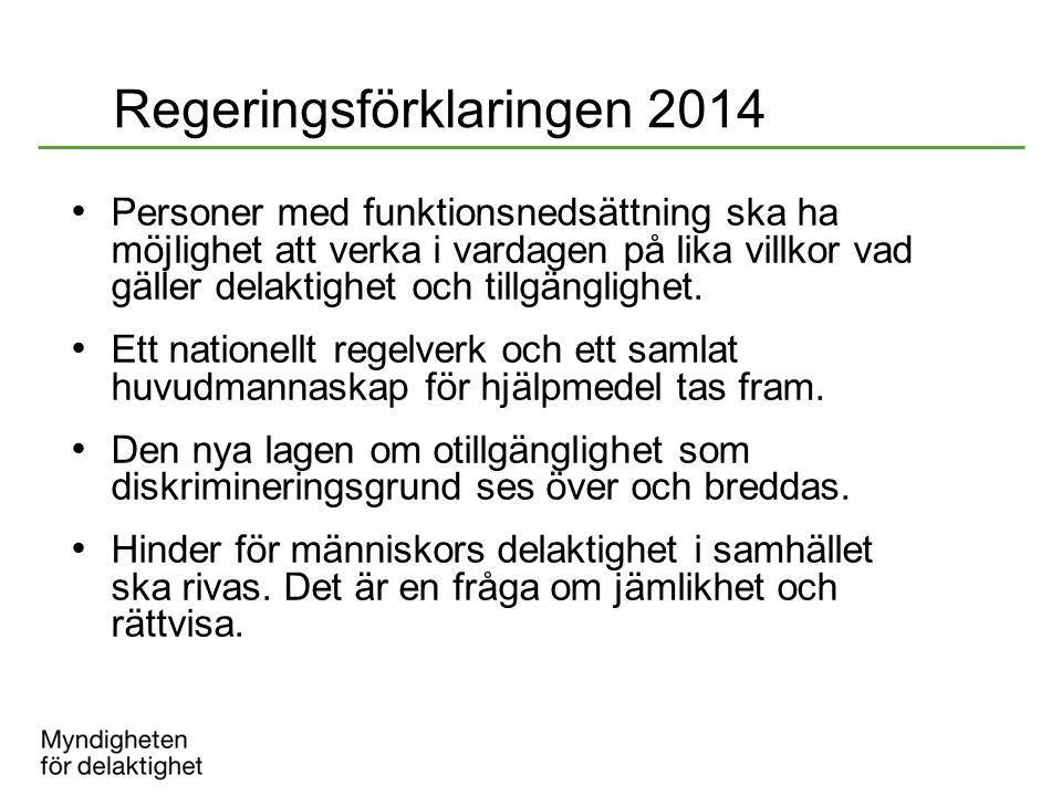 Regeringsförklaringen 2014