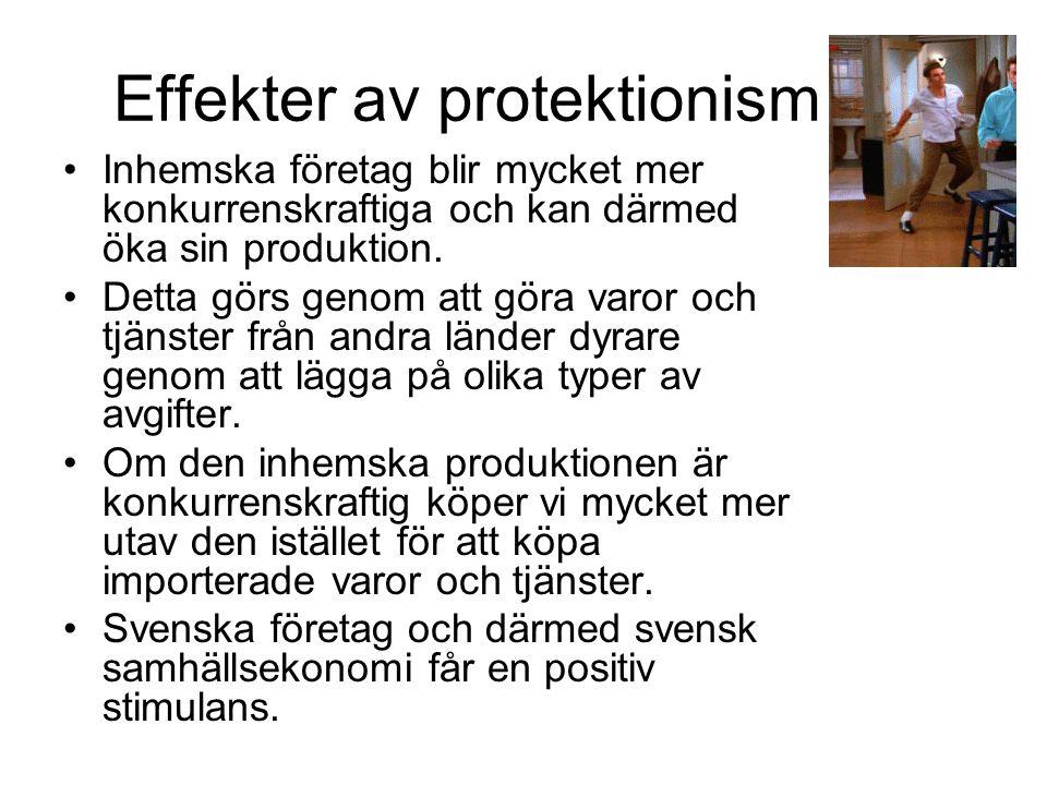 Effekter av protektionism