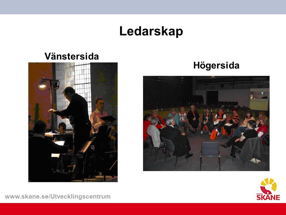Ledarskap Vänstersida Högersida