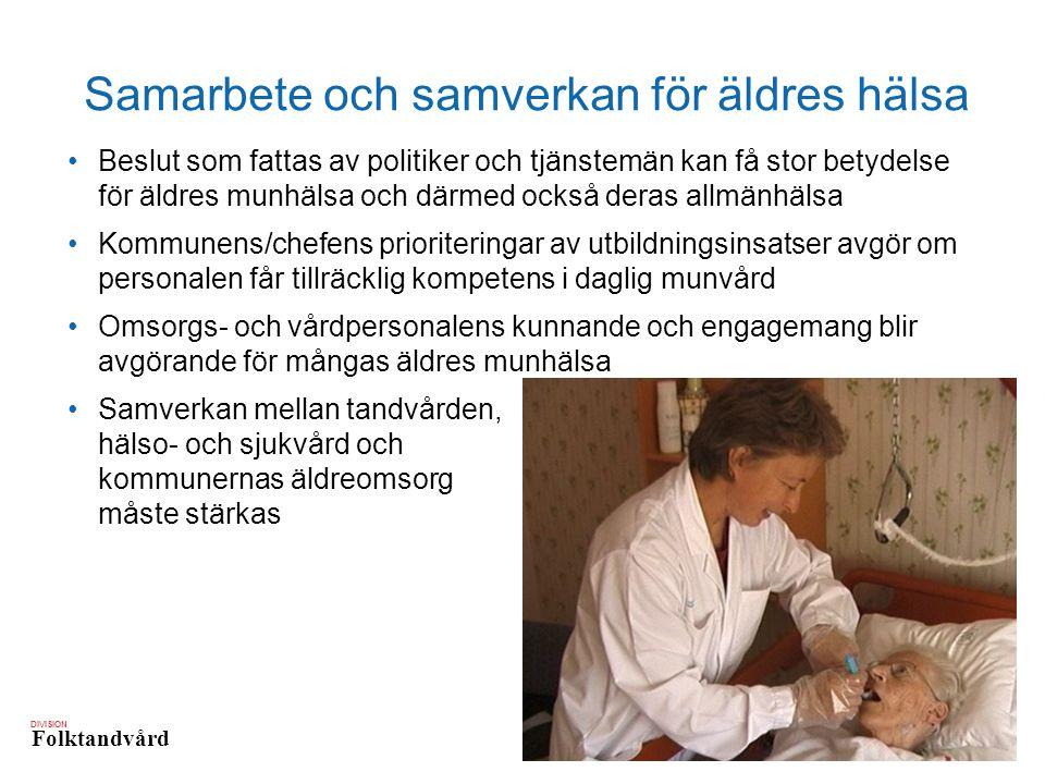 Samarbete och samverkan för äldres hälsa
