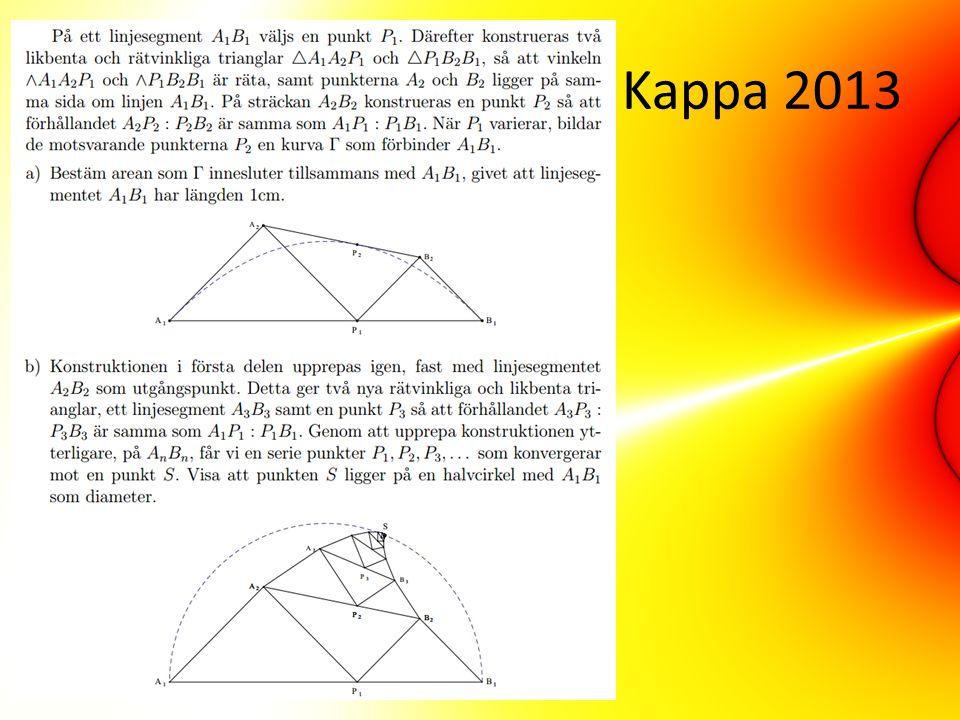Kappa 2013