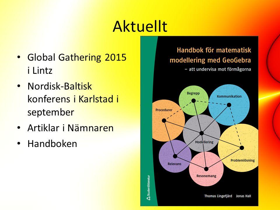 Aktuellt Global Gathering 2015 i Lintz