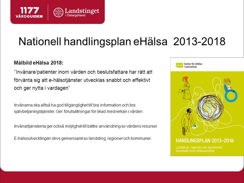 Nationell handlingsplan eHälsa 2013-2018