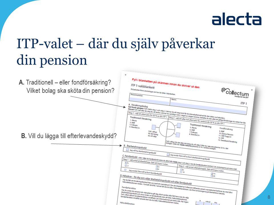 ITP-valet – där du själv påverkar din pension
