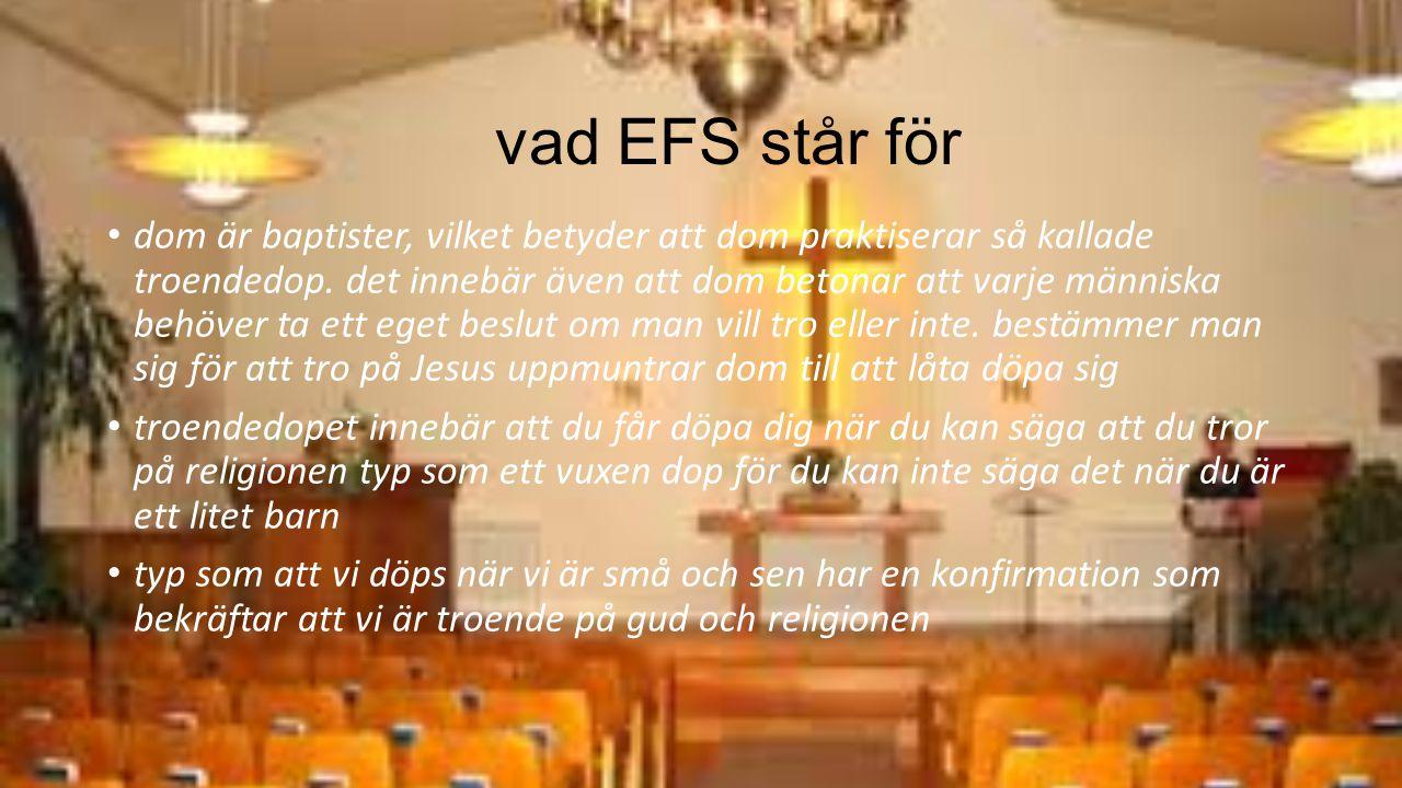 vad EFS står för