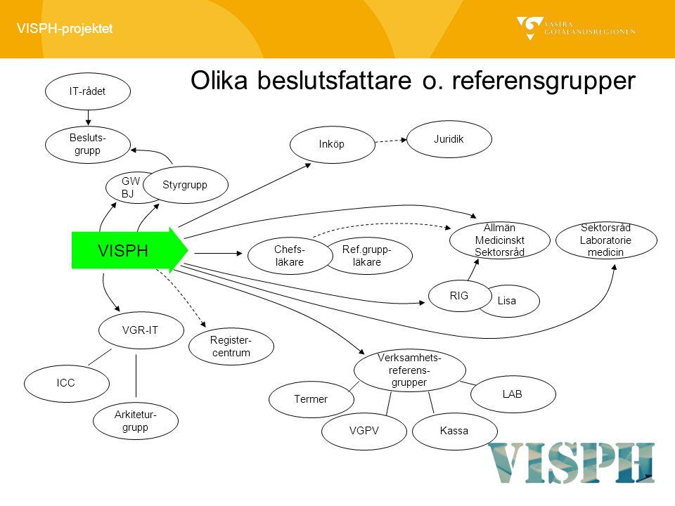 Verksamhets-referens-grupper