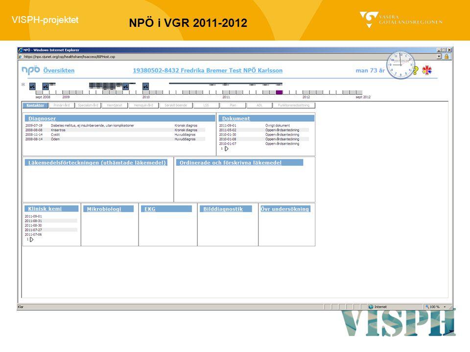 NPÖ i VGR 2011-2012