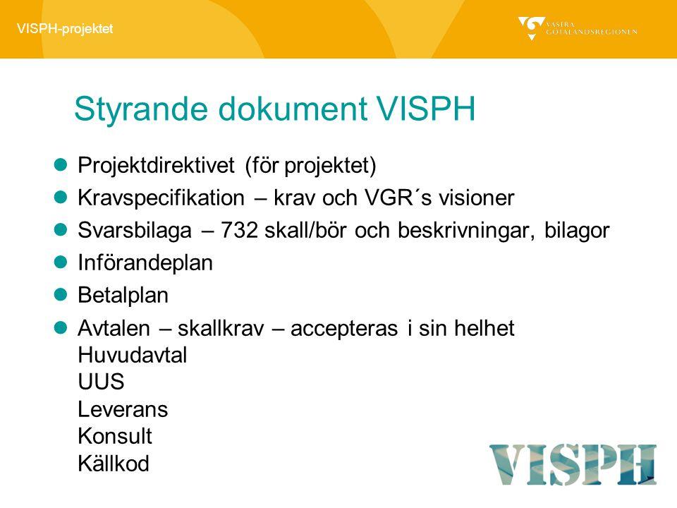 Styrande dokument VISPH