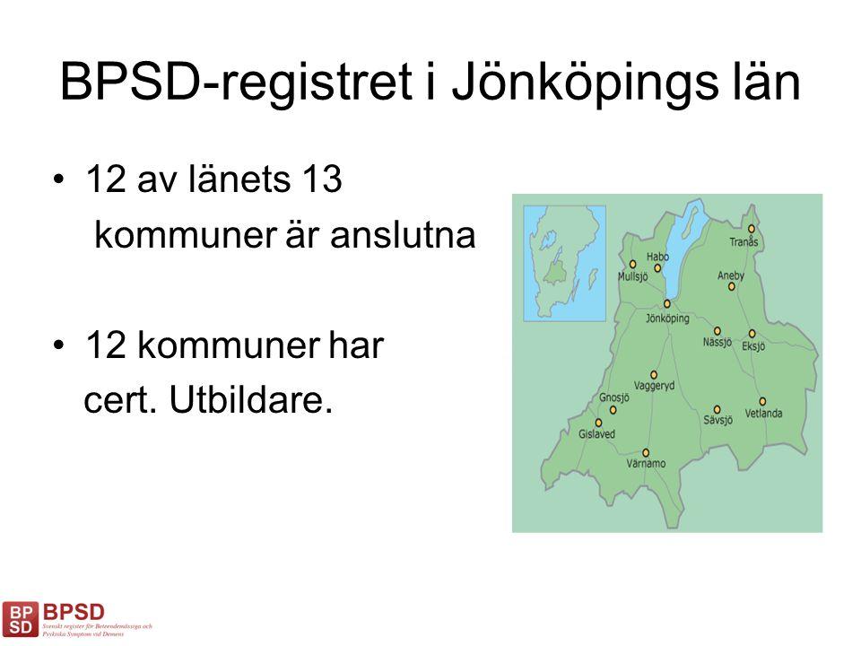 BPSD-registret i Jönköpings län