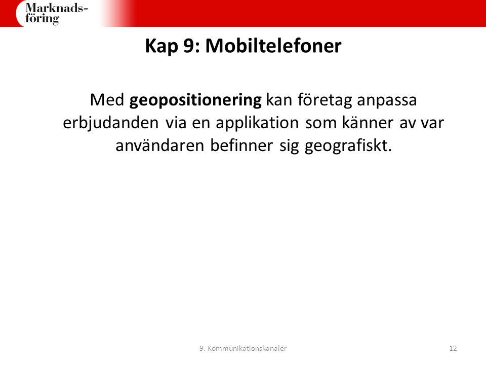 9. Kommunikationskanaler