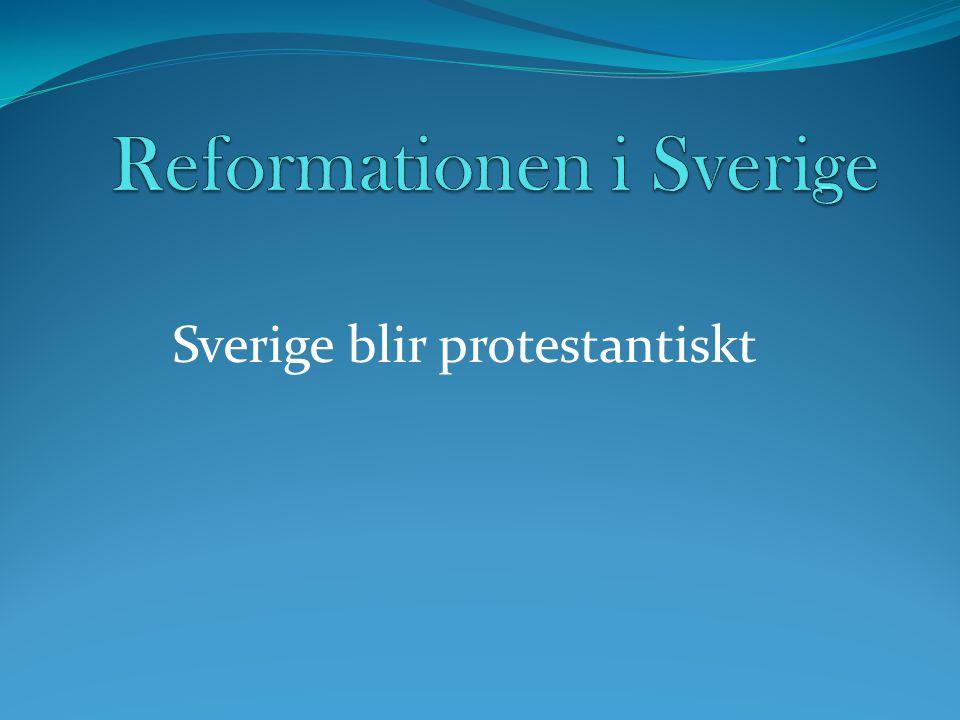 Reformationen i Sverige