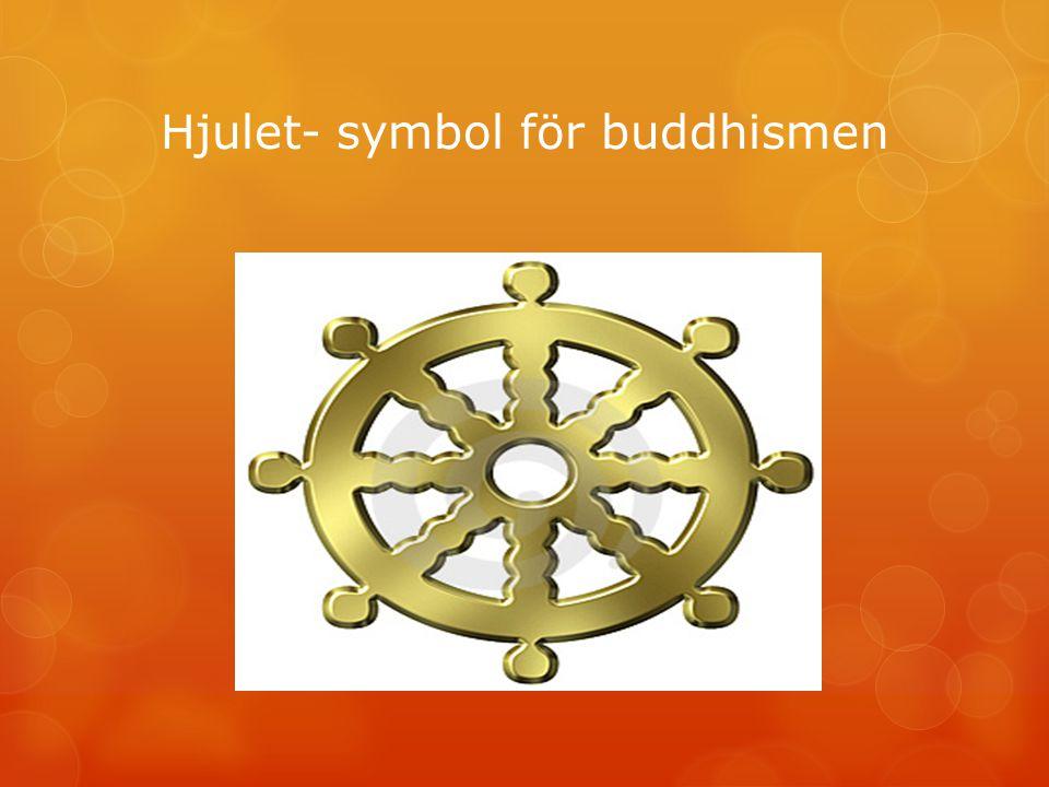 Hjulet- symbol för buddhismen