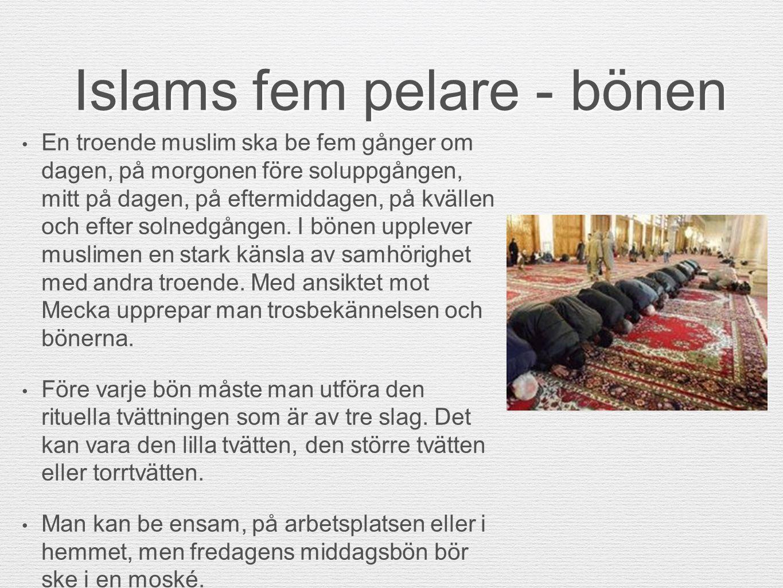 Islams fem pelare - bönen