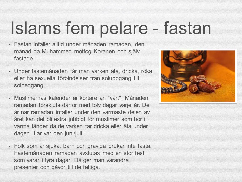 Islams fem pelare - fastan