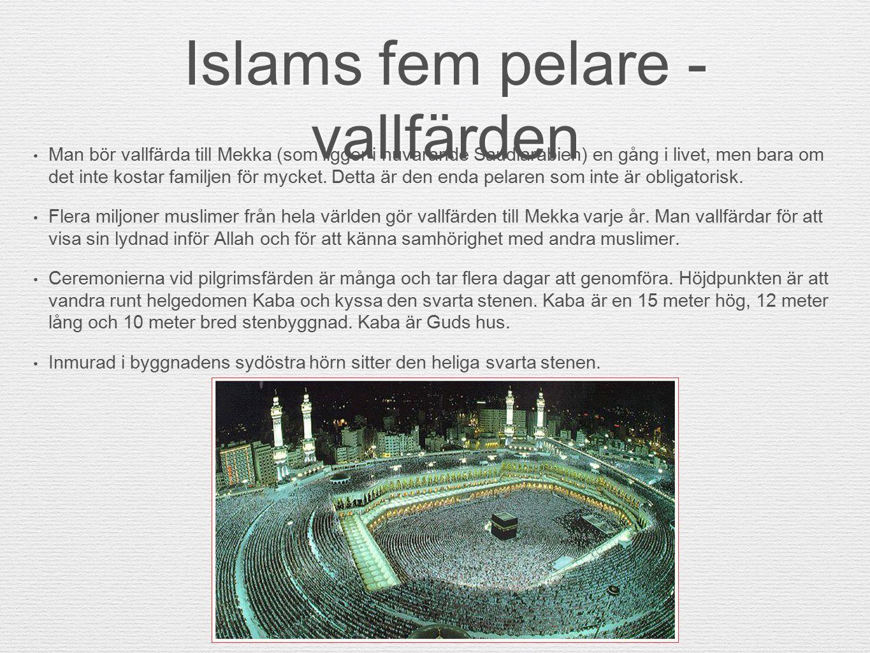 Islams fem pelare - vallfärden