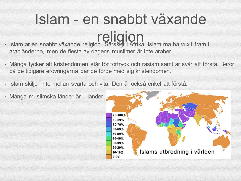Islam - en snabbt växande religion