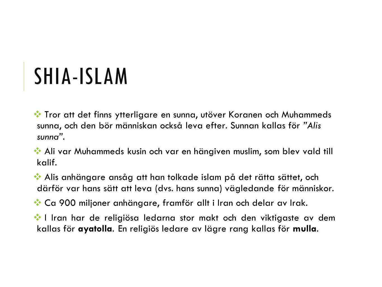 Shia-islam