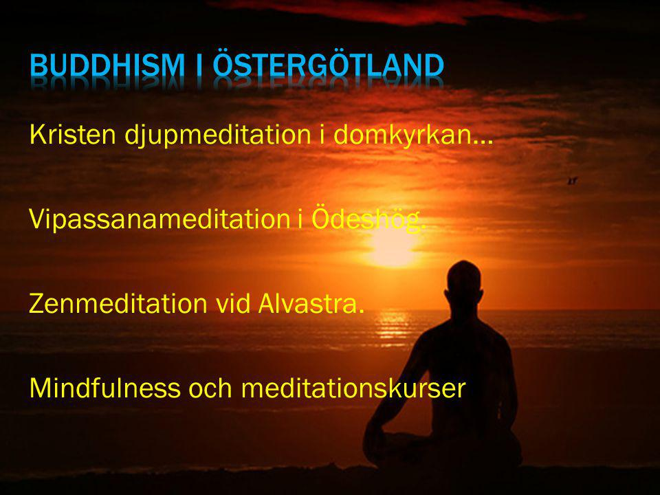 Buddhism i östergötland