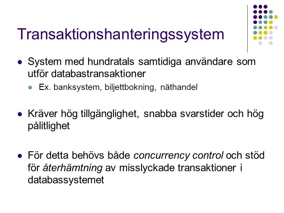 Transaktionshanteringssystem