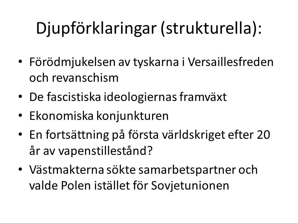 Djupförklaringar (strukturella):