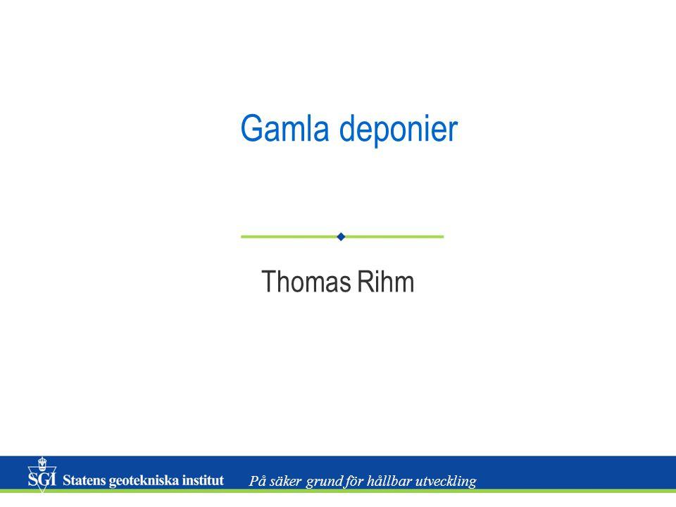 Gamla deponier Thomas Rihm