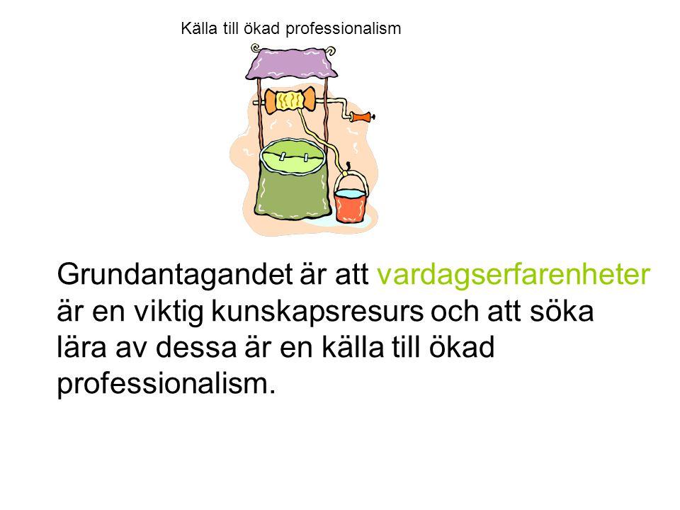 Källa till ökad professionalism