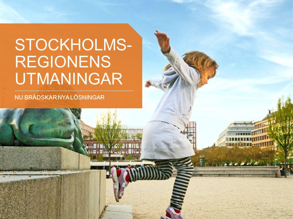 Stockholms- regionens utMAningar