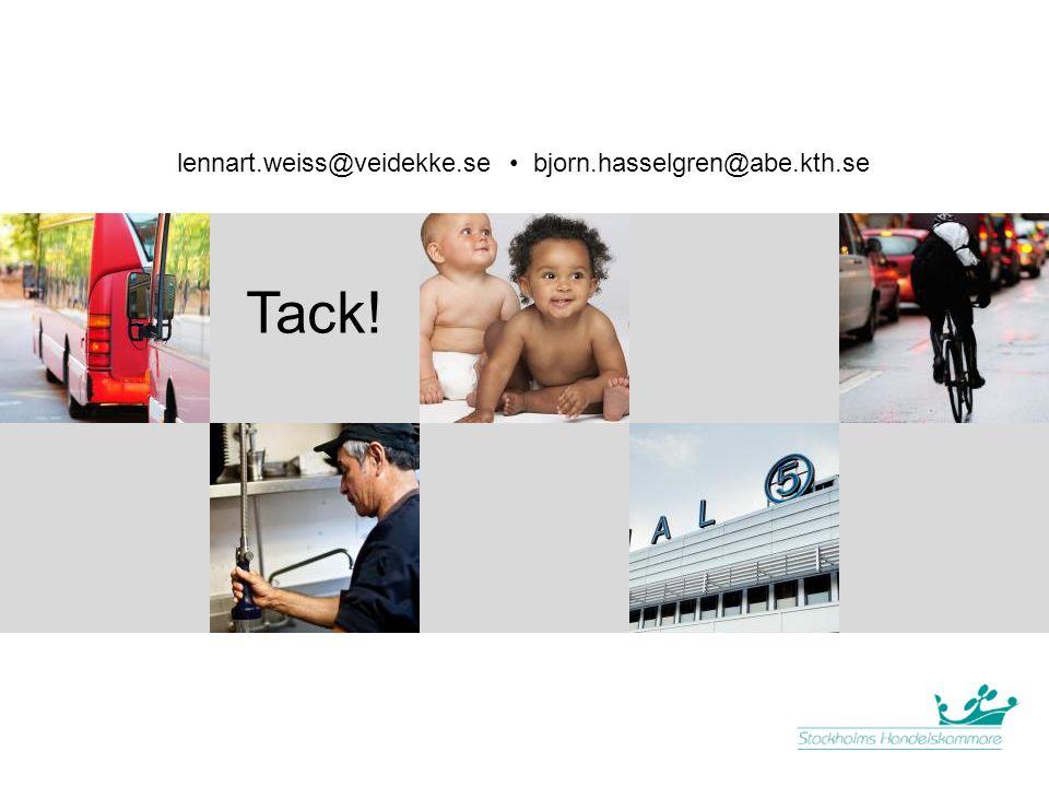lennart.weiss@veidekke.se • bjorn.hasselgren@abe.kth.se