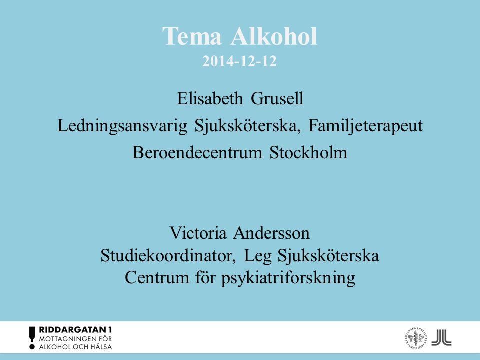 Tema Alkohol 2014-12-12