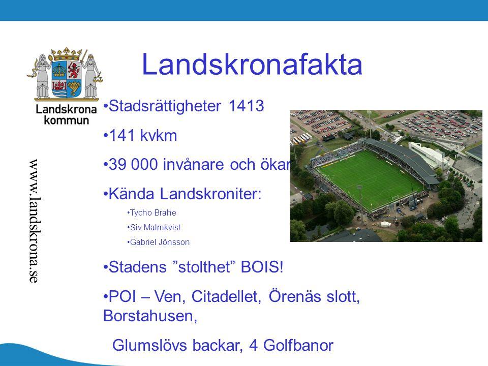Landskronafakta Stadsrättigheter 1413 141 kvkm