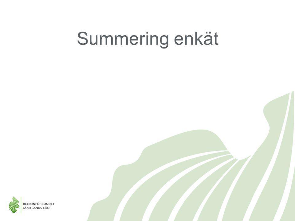 Summering enkät