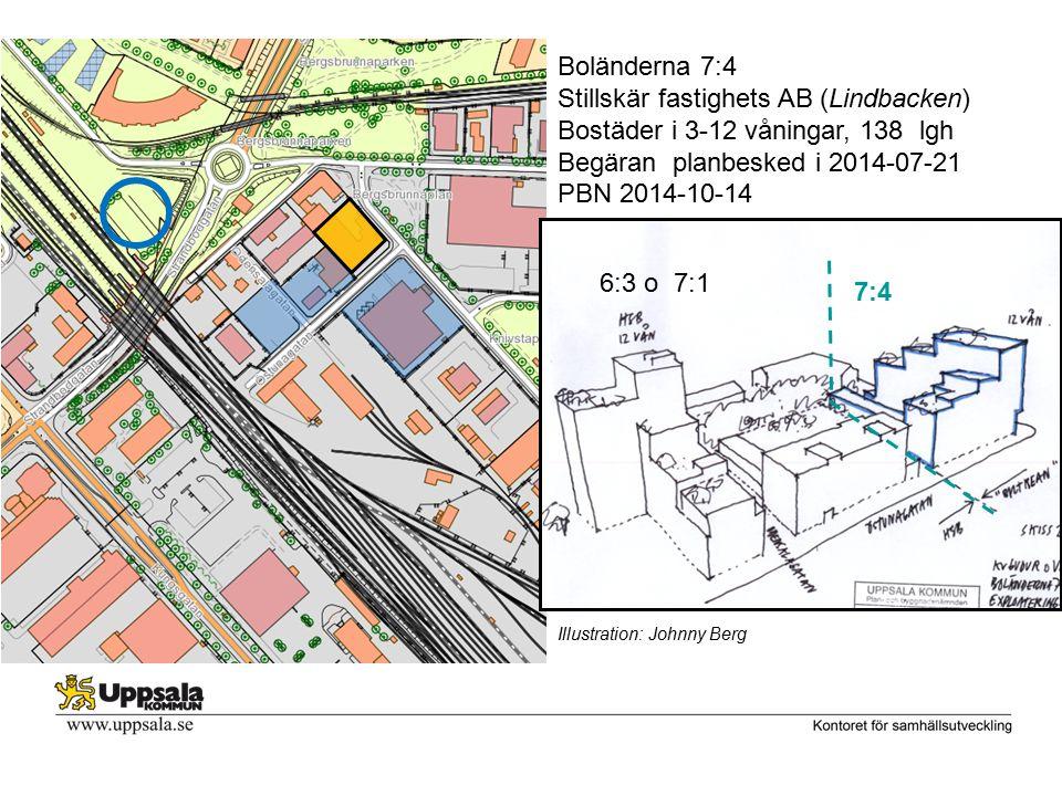 Stillskär fastighets AB (Lindbacken) Bostäder i 3-12 våningar, 138 lgh