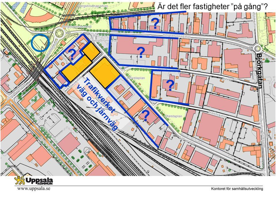 Är det fler fastigheter på gång Trafikverket