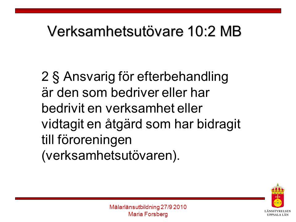 Verksamhetsutövare 10:2 MB