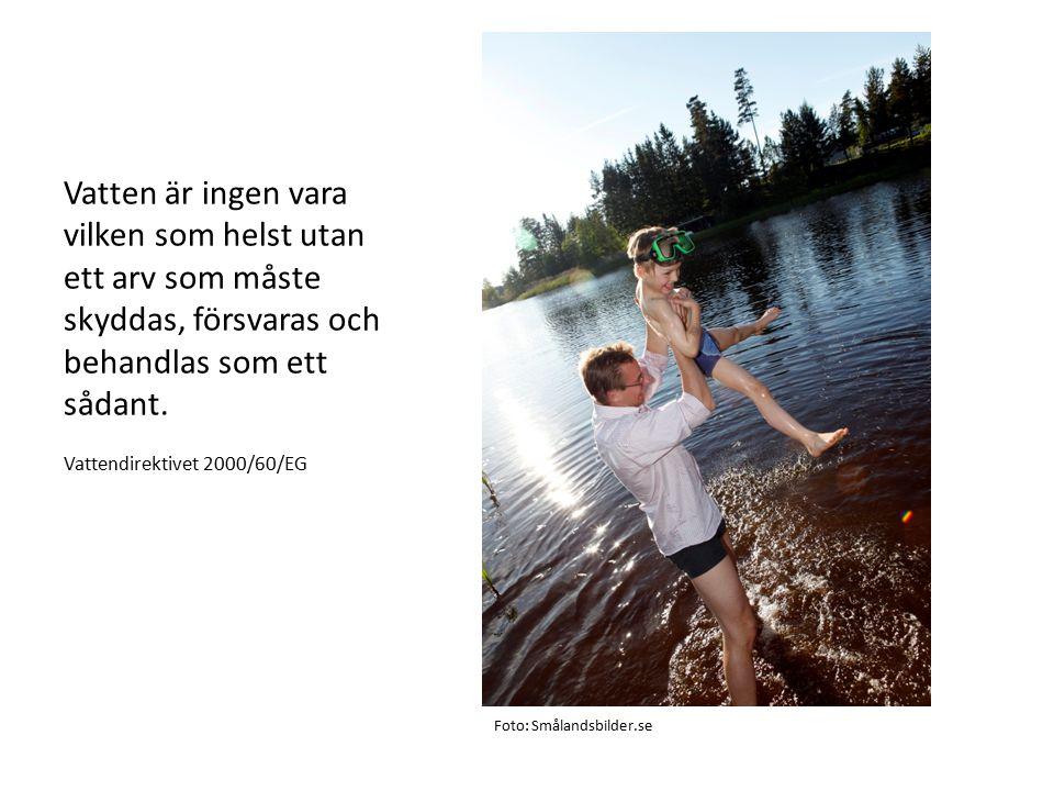 Vatten är ingen vara vilken som helst utan ett arv som måste skyddas, försvaras och behandlas som ett sådant.