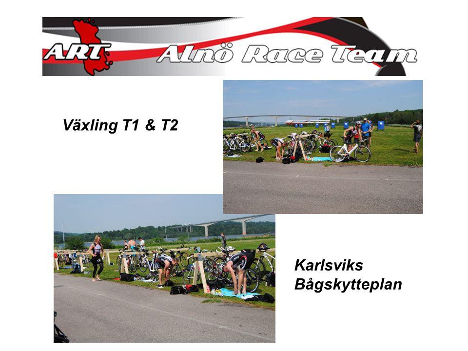 Växling T1 & T2 Karlsviks Bågskytteplan