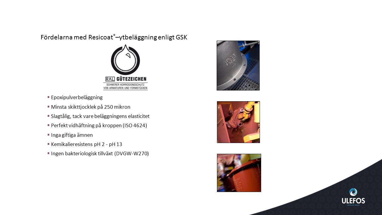 Fördelarna med Resicoat®–ytbeläggning enligt GSK