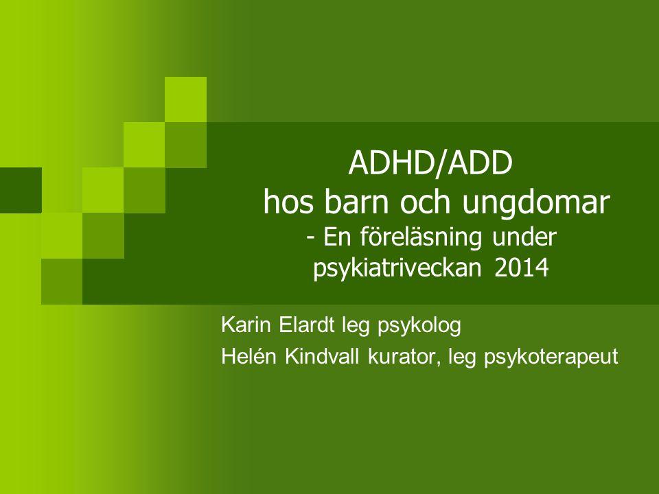 Karin Elardt leg psykolog Helén Kindvall kurator, leg psykoterapeut