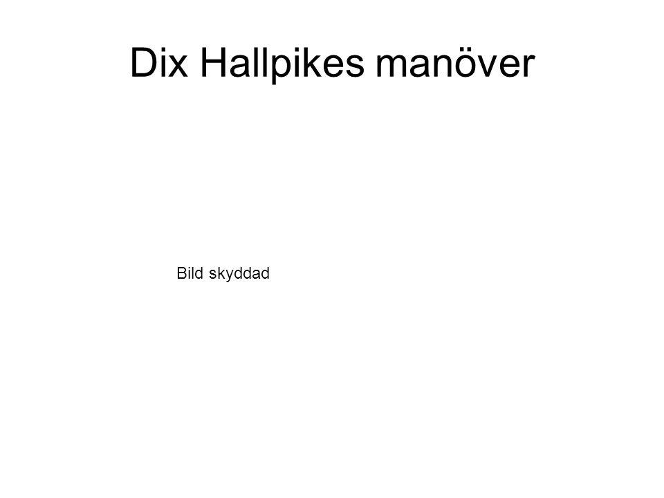 Dix Hallpikes manöver Bild skyddad