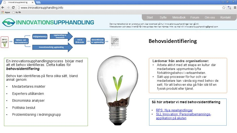 Innovationsupphandling