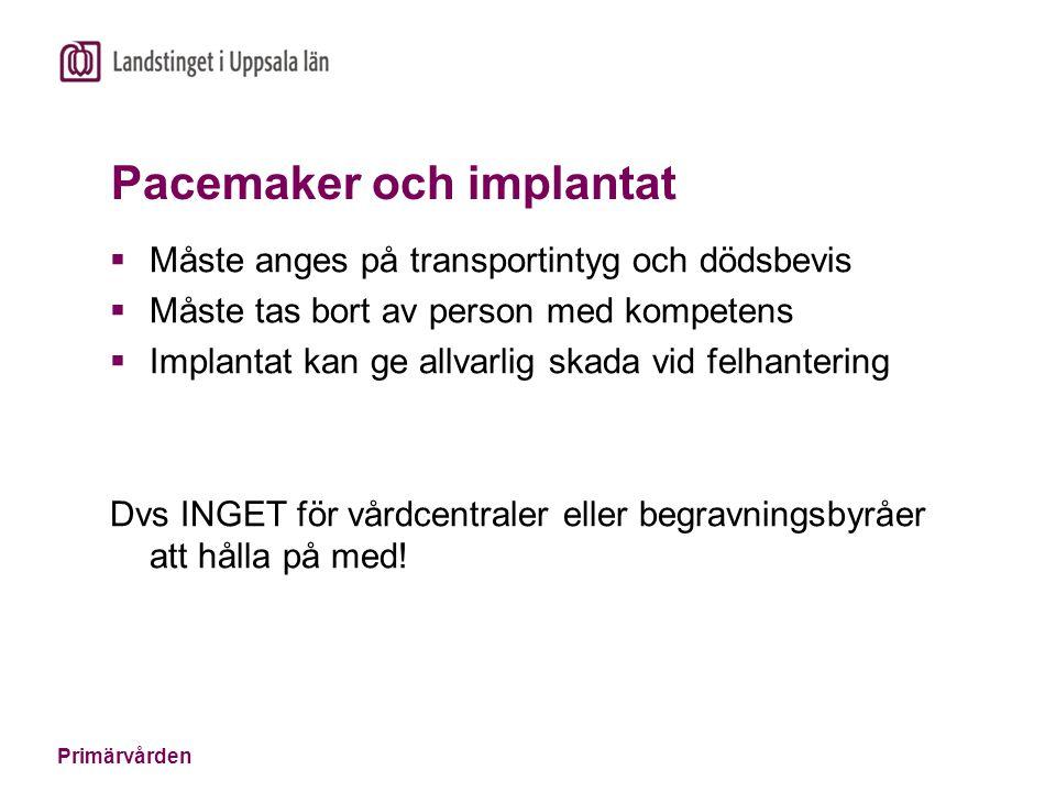 Pacemaker och implantat