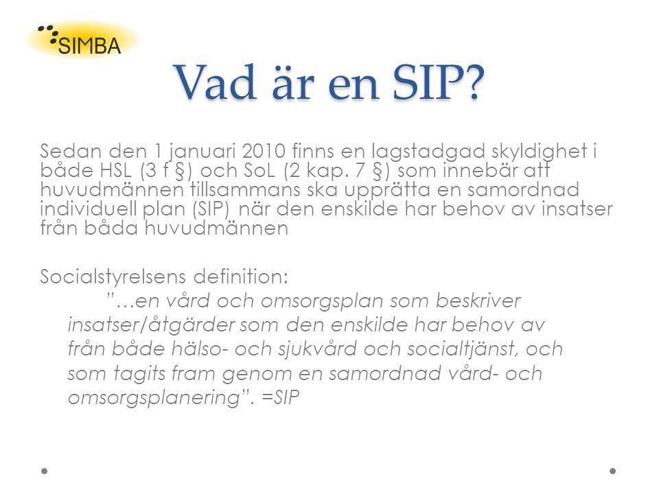 Vad är en SIP