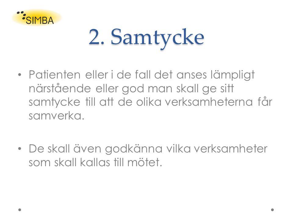 2. Samtycke