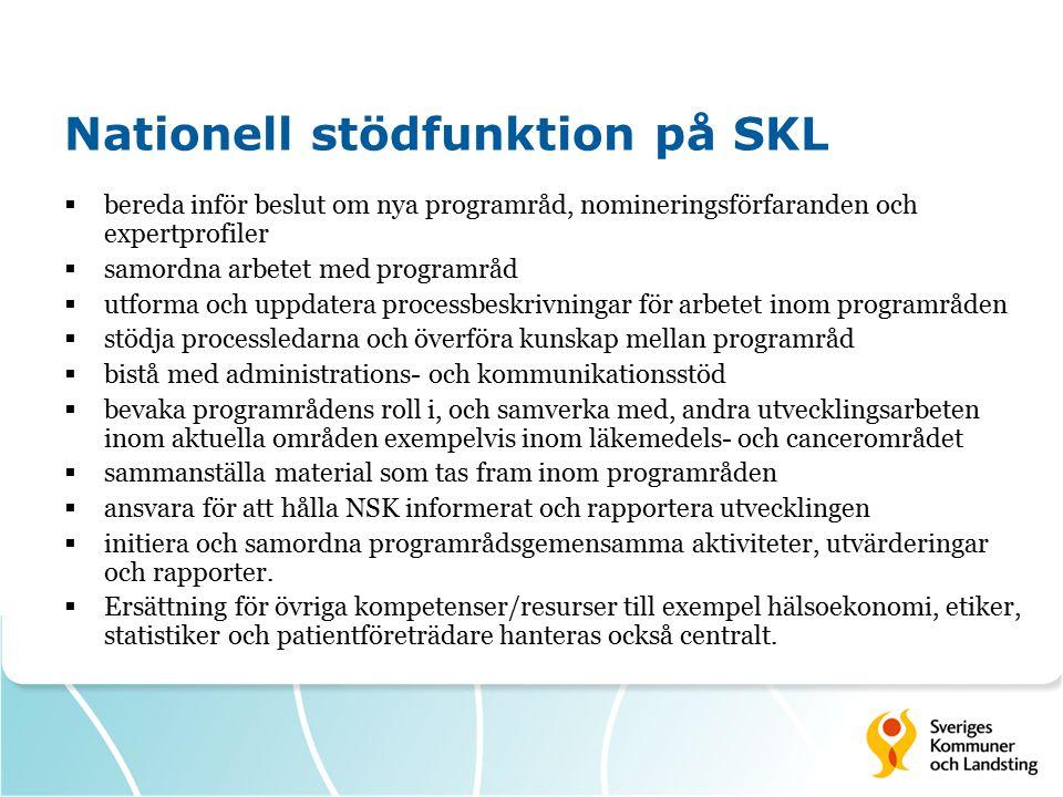 Nationell stödfunktion på SKL