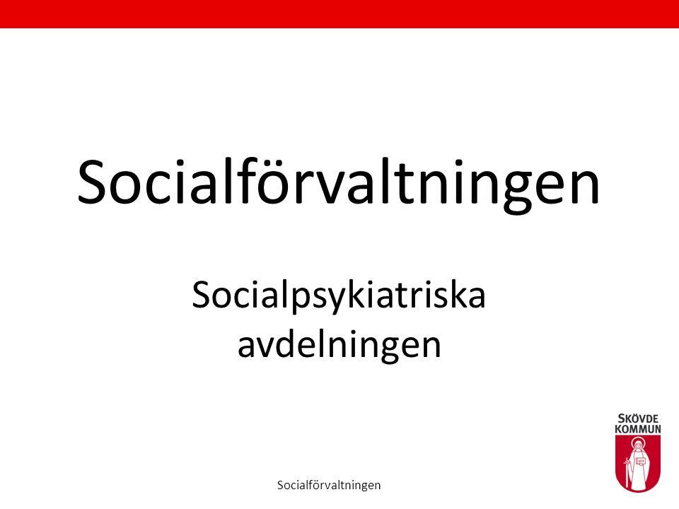 Socialpsykiatriska avdelningen