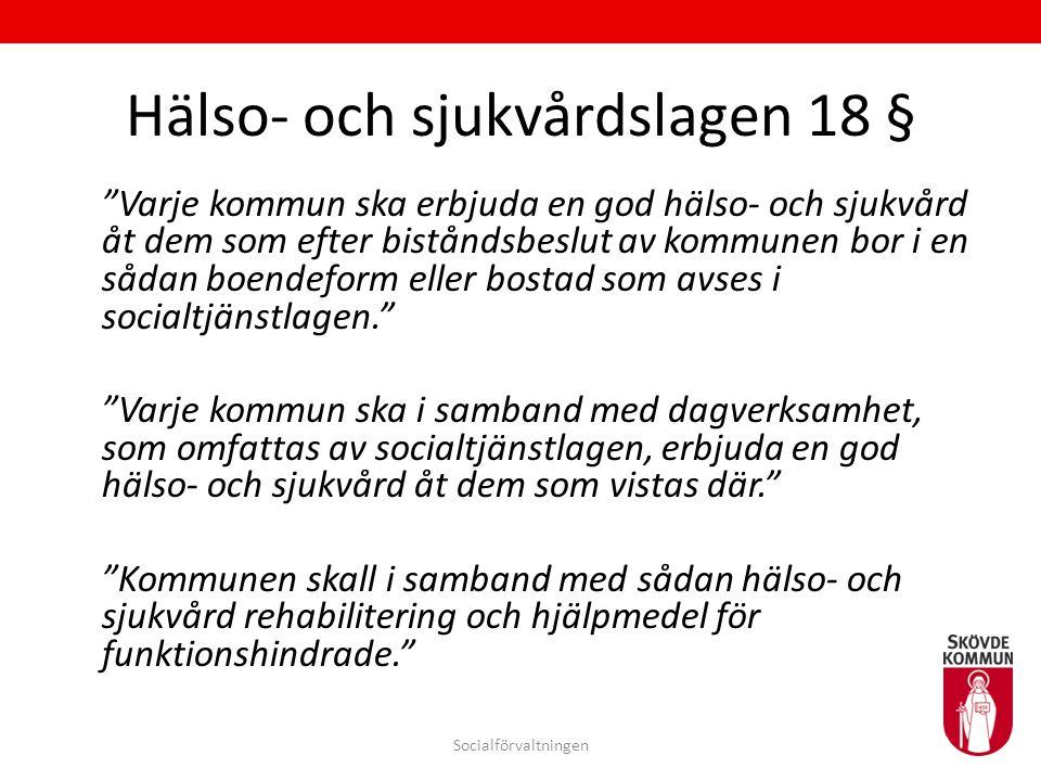 Hälso- och sjukvårdslagen 18 §