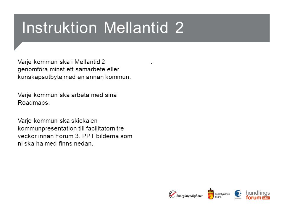Instruktion Mellantid 2