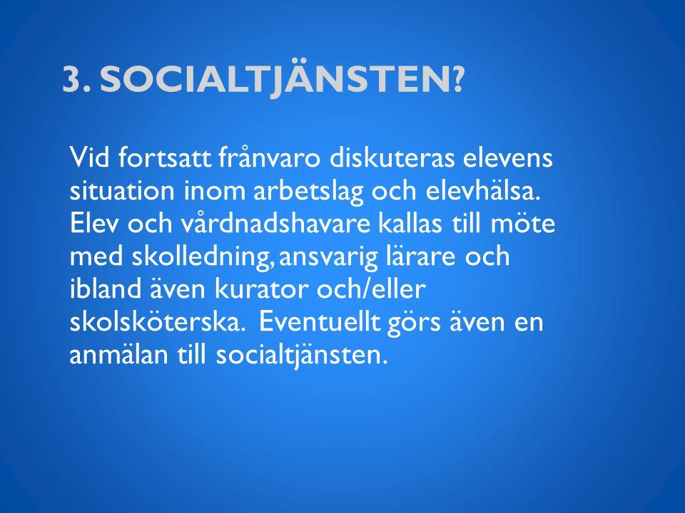 3. Socialtjänsten