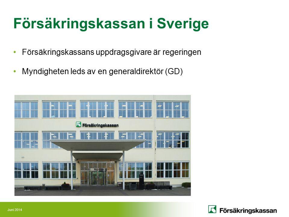 Försäkringskassan i Sverige