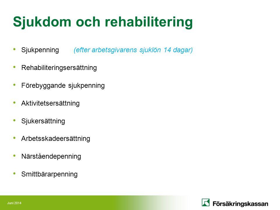 Sjukdom och rehabilitering